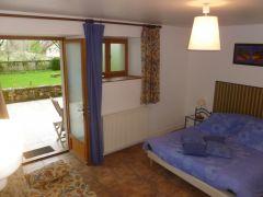 Chambre en rez-de-terrasse