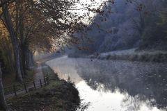 le canal latéral à la Garonne (canal du midi)