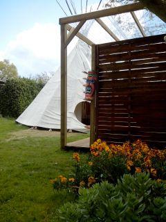 Tipi Insolite, Camping de Langatre