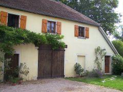 La Maison Jaune à Givry