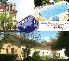 Résidence du château de Bégué