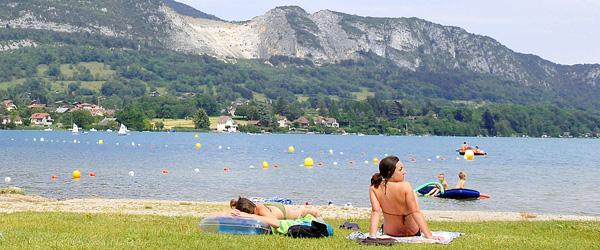 Plage du Lac d'Annecy