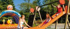 Jeux enfants au camping la nublière
