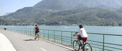 A vélo autour du lac d'Annecy