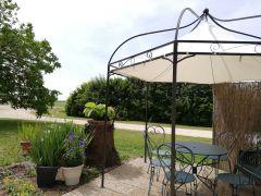 terrasse et gloriette