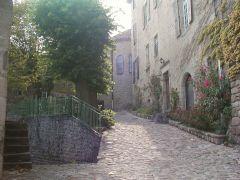 une rue de Chalencon