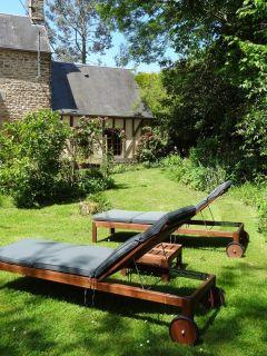 le cottage vu du jardin