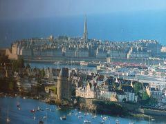 Ville de Saint-Malo.
