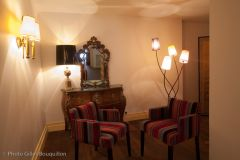 Un coin salon Hôtel Royal Wilson au centre de Toulouse
