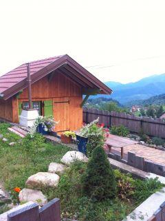terrasse et cabane