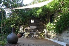 Terrasse en été