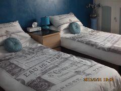 La chambre,bleu