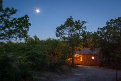 Cabane Spa Pella Roca vue nuit