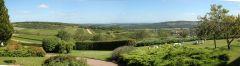 Vue panoramique à La Montagne de Brancion