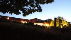 Vue nocturne de La Montagne de Brancion