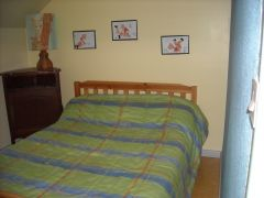 Chambre avec 1 lit 2 places