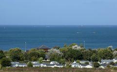 Camping situé en bord de mer