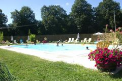 piscine chauffée 25° mini