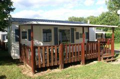 mobil-home loft  avec terrasse couverte