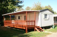 mobil-home  Super Mercure avec terrasse couverts