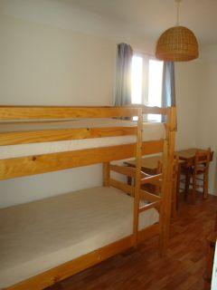 Chambre des lits supeposés