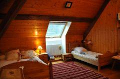 grande chambre de 3 lits