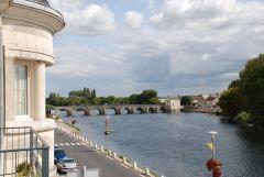 Le Cher et le pont de Montrichard