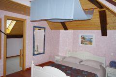 chambre romantique bleue