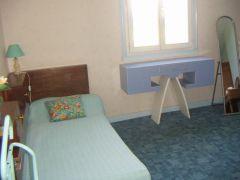 le lit 1 personne, ch bleue