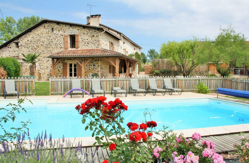 Gite 10 pers piscine privée