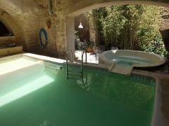 piscine avec balneo