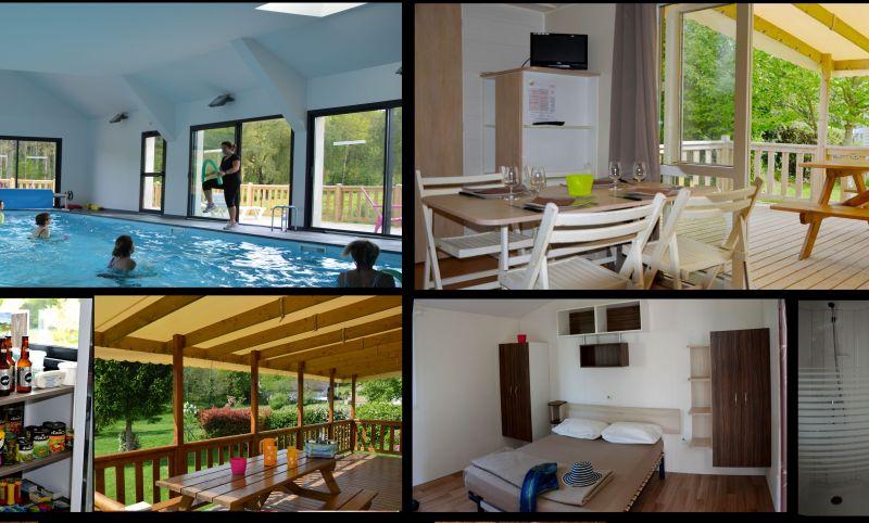 Camping ouvert toute l'année piscine intérieure