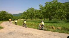 A vélo dans la campagne d'Hostun