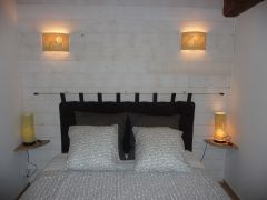 Chambre rez de chaussée lit 160 x 200