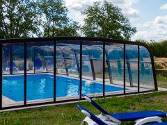 piscine 5*10 chauffée couverte