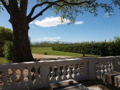 Terrasse vue sur le Canigou