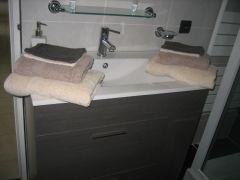 Meuble vasque de la salle d'eau