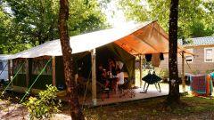 Camping Le Médoc Bleu Carcans Gironde