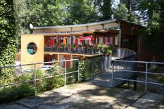 Accueil et restaurant du camping