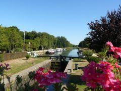 Evran et son écluse sur le canal d'Ille et Rance