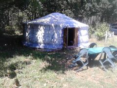 camping yourte et chambre d hote du domaine du plec vous accueil
