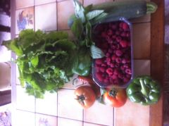 legumes et fruits rouges