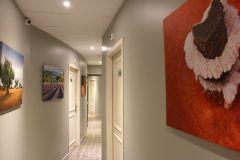 Couloir conduisant aux chambres