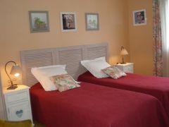 chambre Bruyère en lits jumeaux