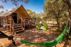 Cabane lodge du Camping Domaine de Gajan