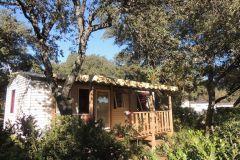 Mobil Home en pleine nature Camping Domaine de Gajan