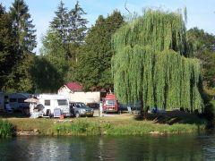 Vue depuis la rivière la Marne