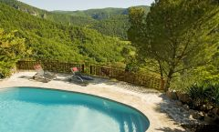 Le COLOMBIER Saint Véran  Gîte de charme 5 étoiles avec piscine en Aveyron