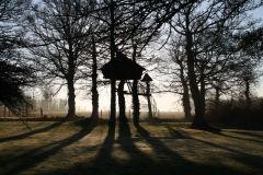 cabane des farfadets vu du jardin