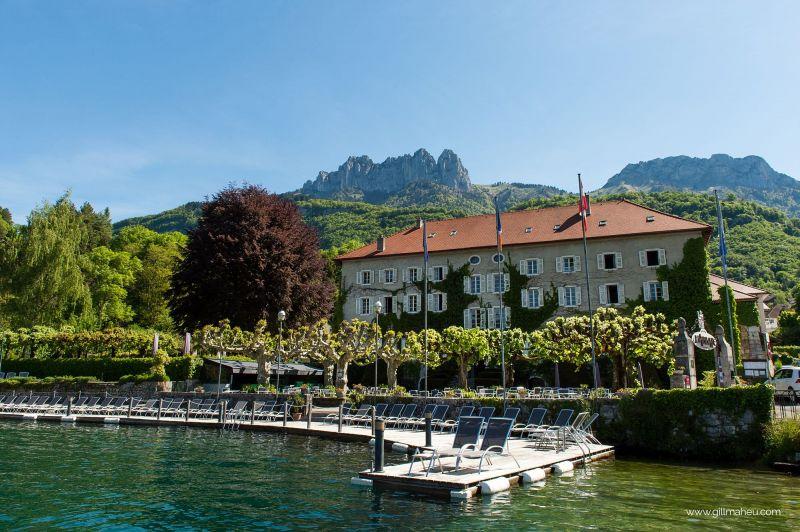 L'Abbaye de Talloires entre lac et montagne